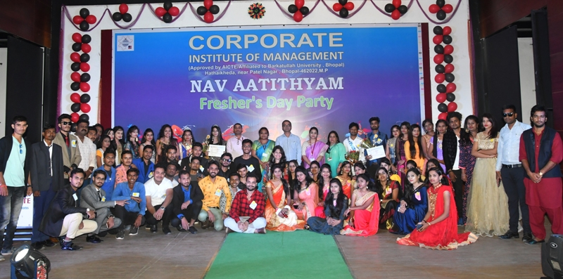 Fresher's Party 2019 of Corporate Institute of Management