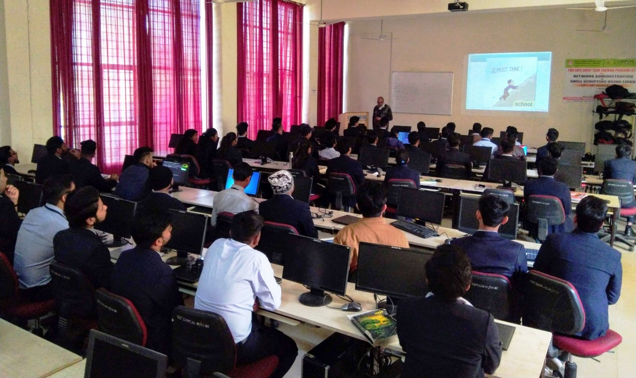 Expert Lecture on Importance of Certification in IT Industry