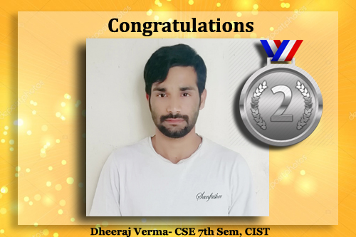 Engineering Student Dheeraj Verma
